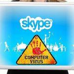 Skype virus ögonblicksbild