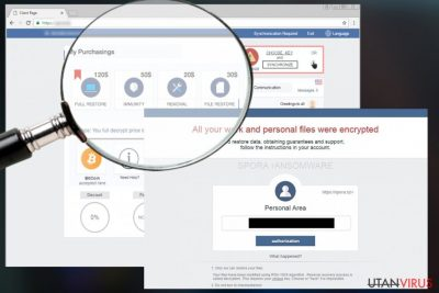 Spora ransomware virus
