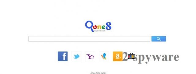 Start.qone8.com ögonblicksbild