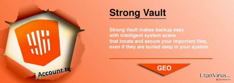 StrongVault Online Backup ögonblicksbild