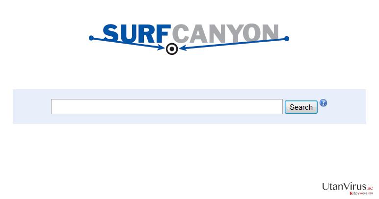 Surf Canyon ögonblicksbild