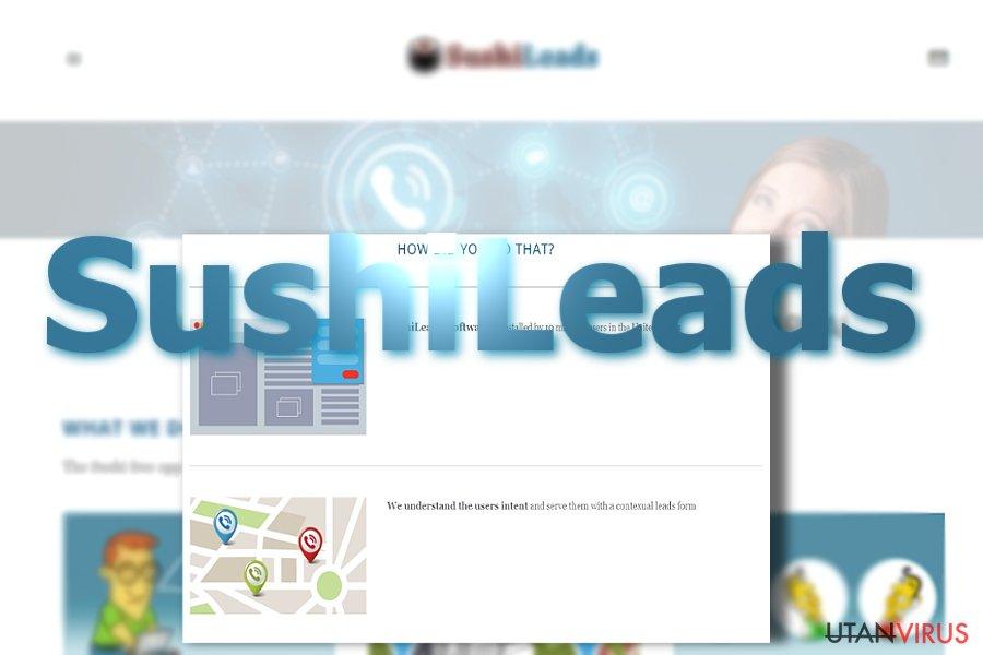 Annonser från SushiLeads ögonblicksbild