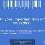 TeslaCrypt 2.0 ögonblicksbild