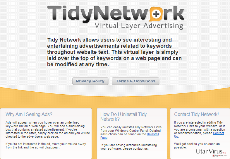 TidyNetwork.com ögonblicksbild