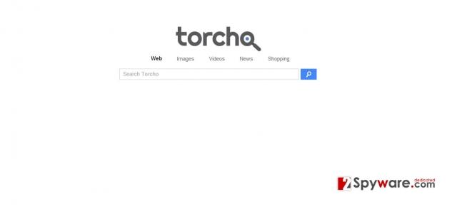 Torcho Web virus ögonblicksbild