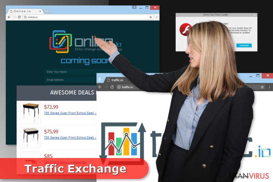 Traffic Exchange-annonser