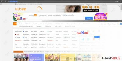 Den frustrerande webbläsarkaparen Uc123.com