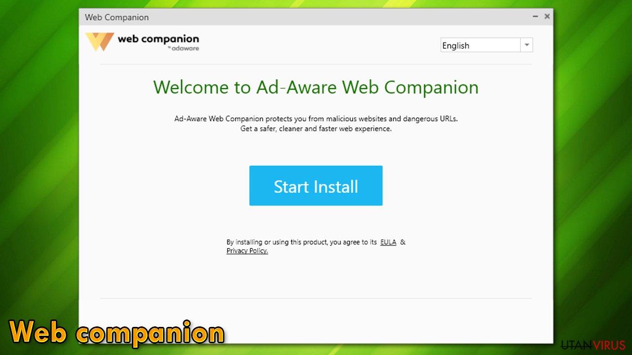 Web companion ögonblicksbild