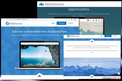 WebDiscover Browser
