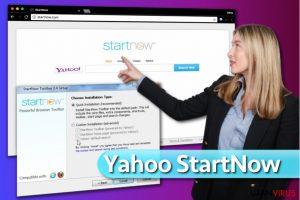 Yahoo Startnow Virus